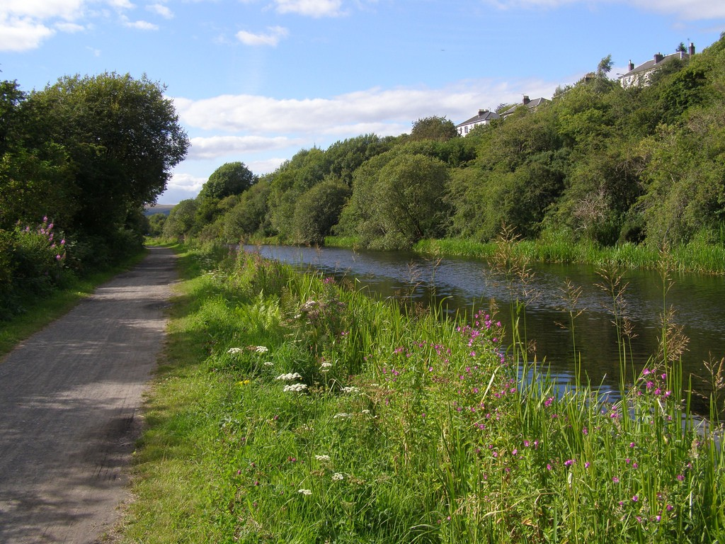 Forth and Clyde Canal Pathway | © John Johnston/Flickr