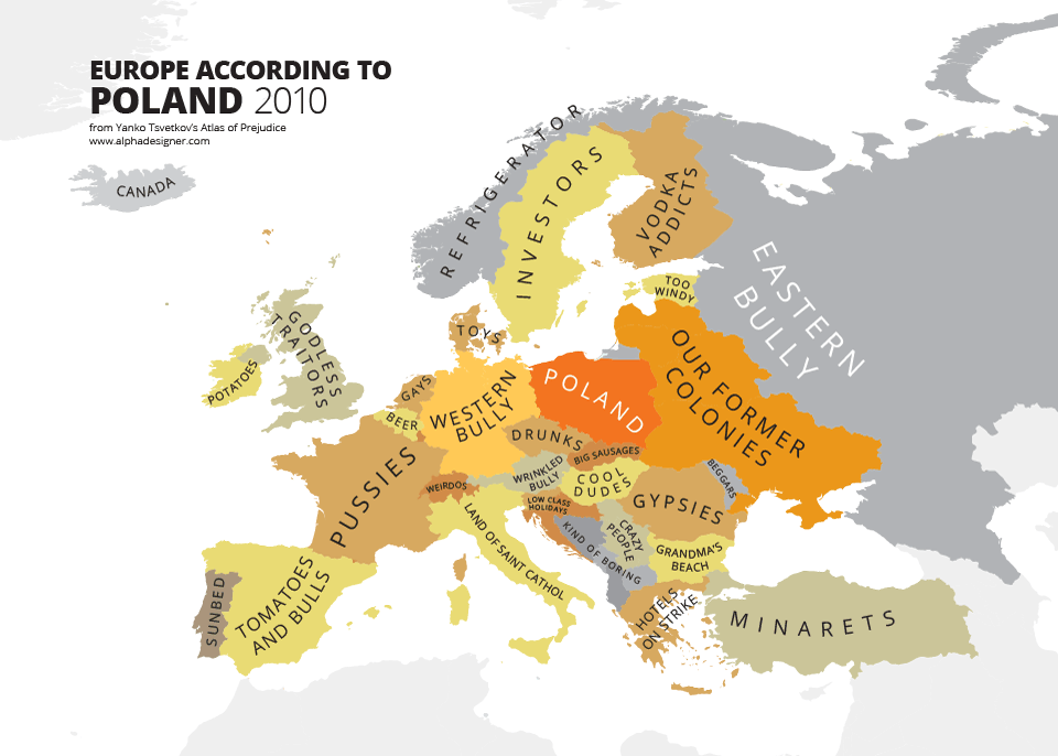 this man creates the most offensive maps of stereotypes in the world