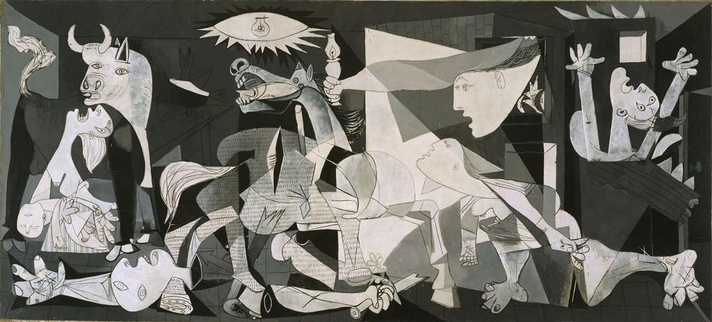 La Guernica, a Picasso masterpiece in Madrid  © Joaquin Cortes / Roman Lores for the Reina Sofia