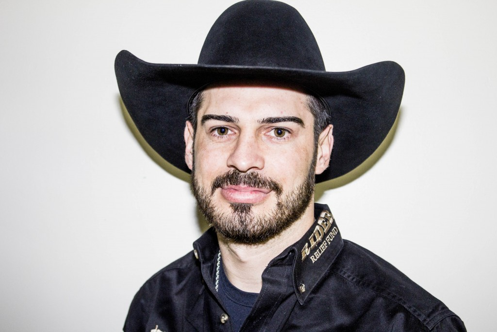 Alex Cardozo before the second day of PBR | © Amanda Suarez/Culture Trip