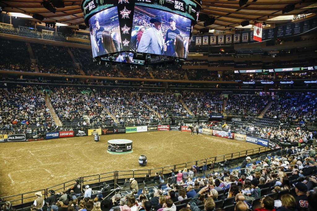 Crowds filled Madison Square Garden for PBR despite a snow storm in early January | © Amanda Suarez/Culture Trip