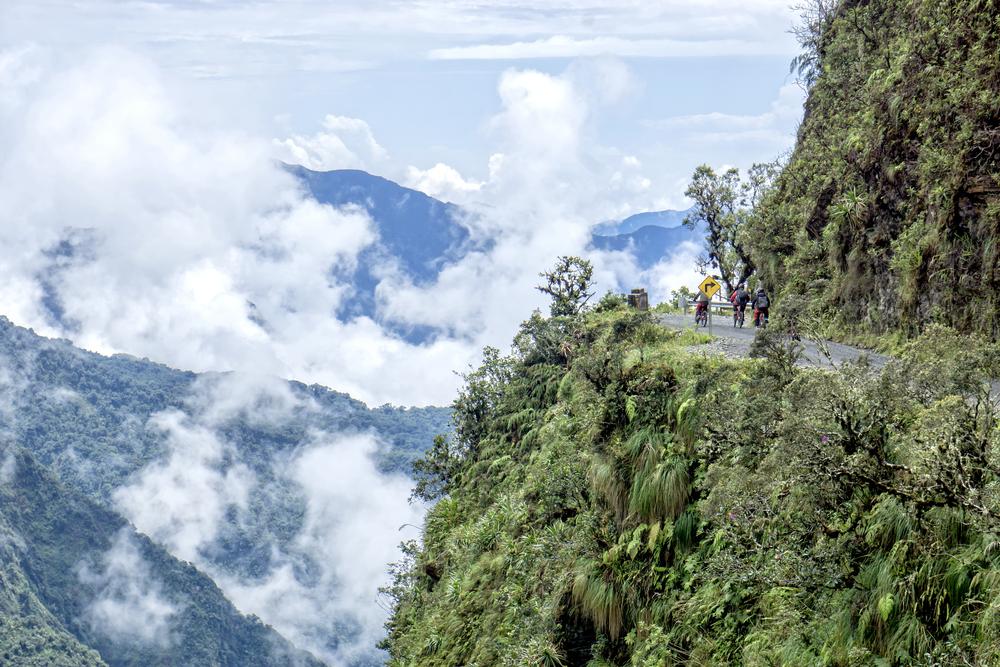 Try mountain biking on Death Road – the world's most dangerous road| © mezzotint/Shutterstock