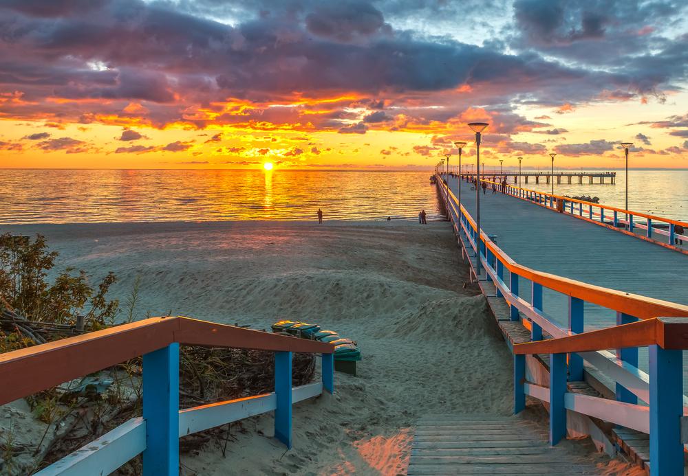 Palanga at sunset | ©Sergei25/Shutterstock