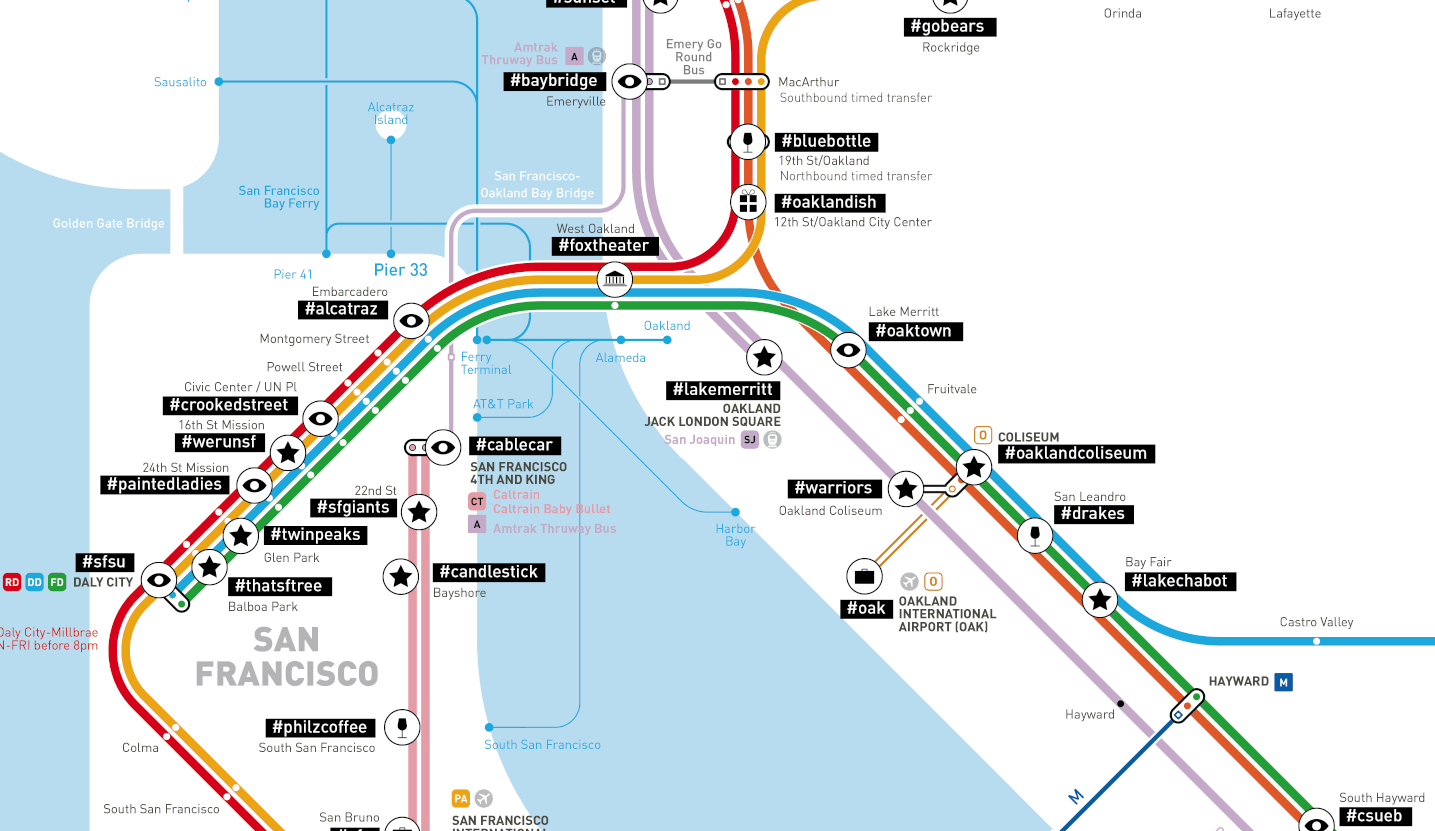 These Cool Subway Maps Show the Most Popular Instagram s Around the