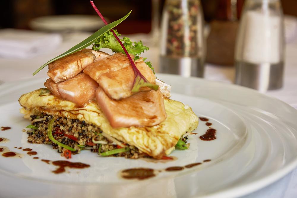 Traditional Peruvian Fish Trucha Served in a Restaurant © Jiri Vondrous /Shutterstock
