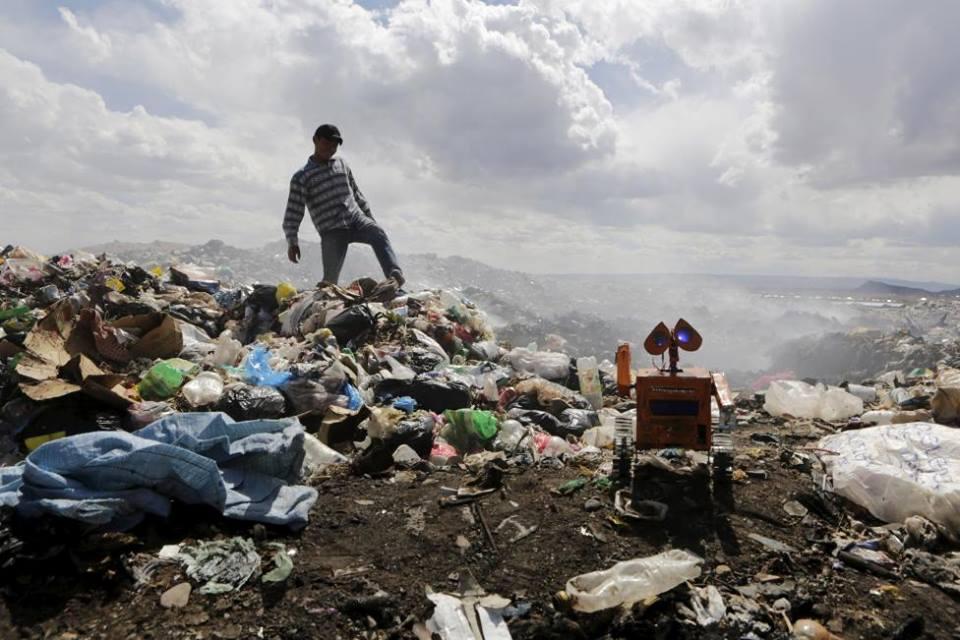 The local rubbish dump   © Esteban Quispe Churata