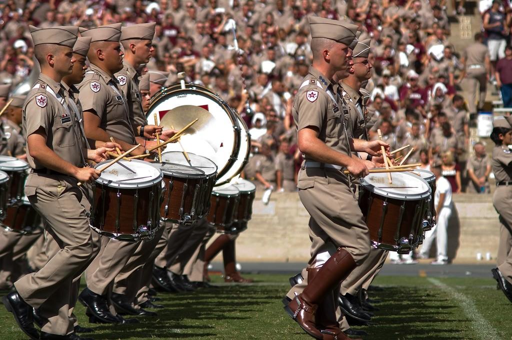 Fightin' Texas Aggie Band © Stuart Seeger