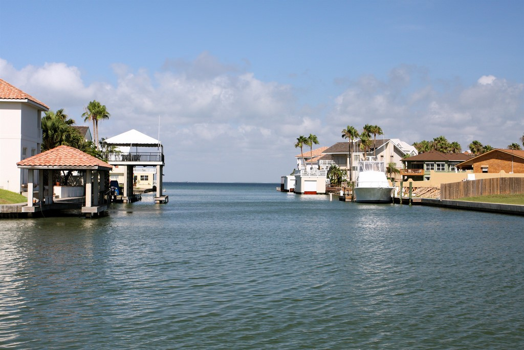 South Padre Island Canal © TravelingOtter