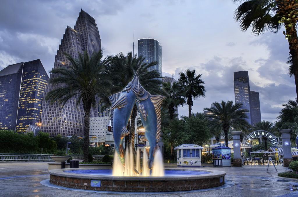 Houston Downtown Aquarium © Katie Haugland Bowen
