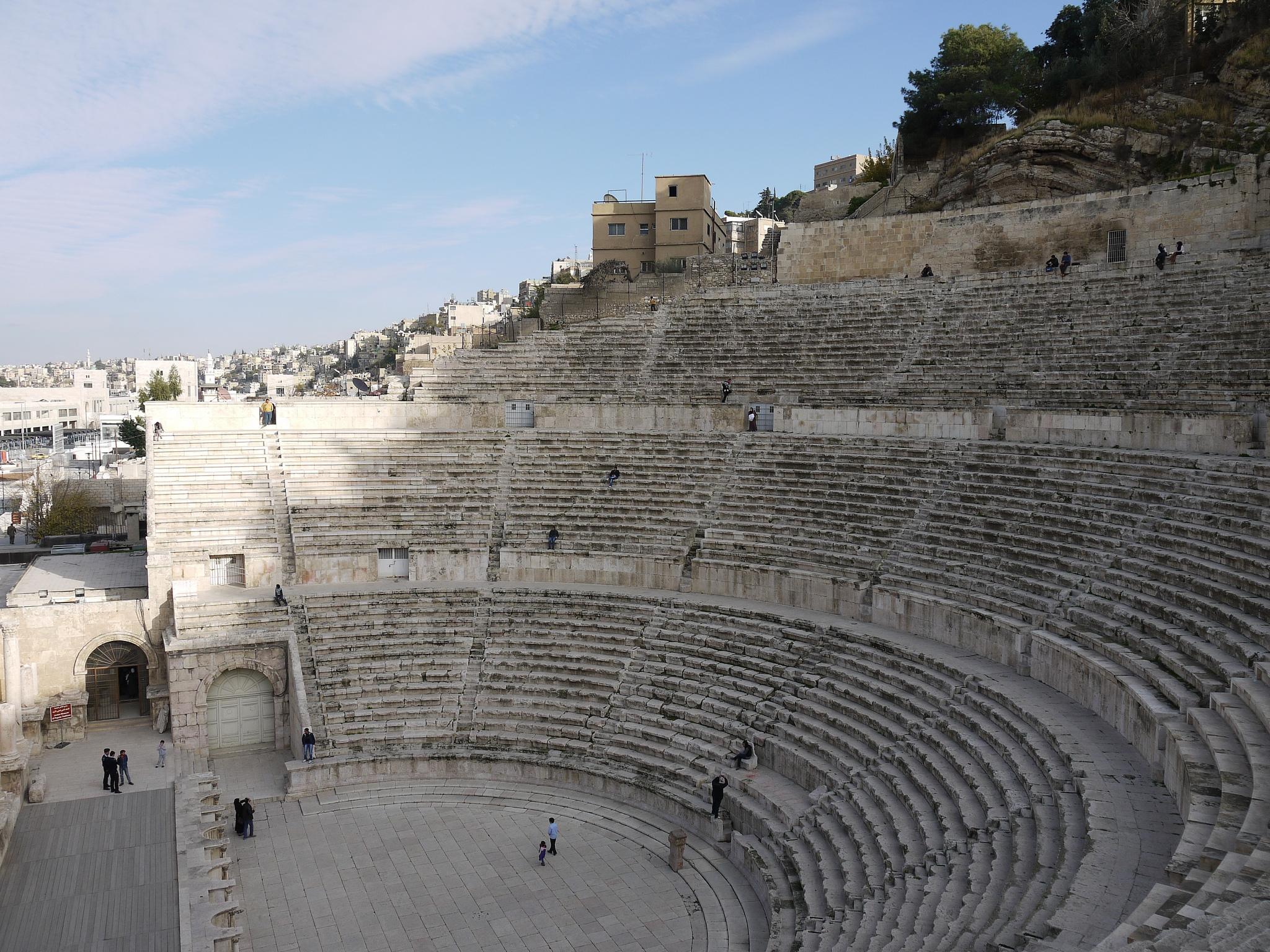 A Brief History of the Roman Theatre in Amman