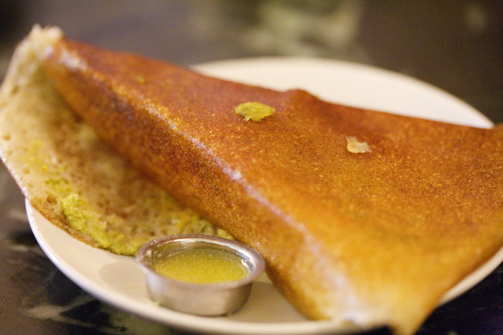 The dosas are delightful at DC Dosa|©Charles Haynes/Flickr