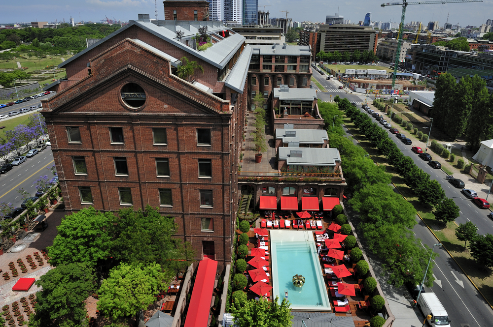 Faena Hotel, 5 start hotel in Puerto Madero , Buenos Aires  © T photography/Shutterstock