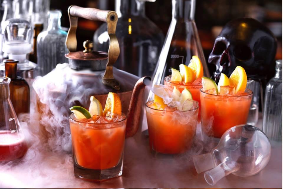 Hawaiian Punch cocktail at The Alchemist