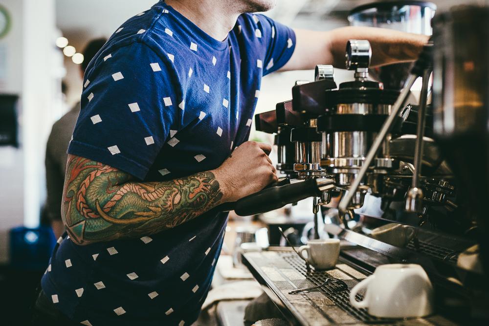 Peregrine Espresso, the busy hub at Union Market|Courtesy of Peregrine Espresso