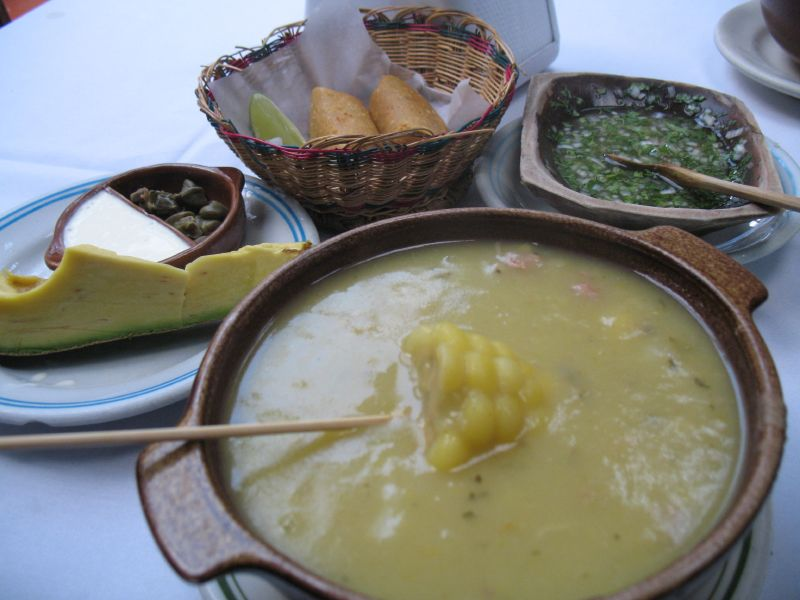 Colombian Food Changua