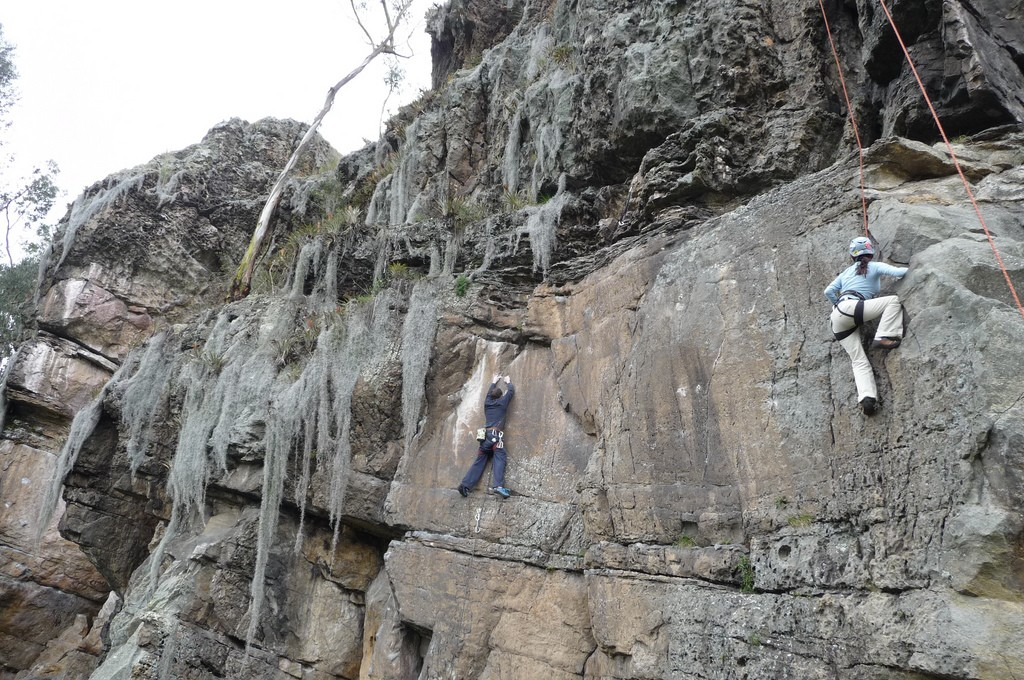 Rock Climbing in Suesca, Colombia © Yassef Briceno Garcia / Flickr