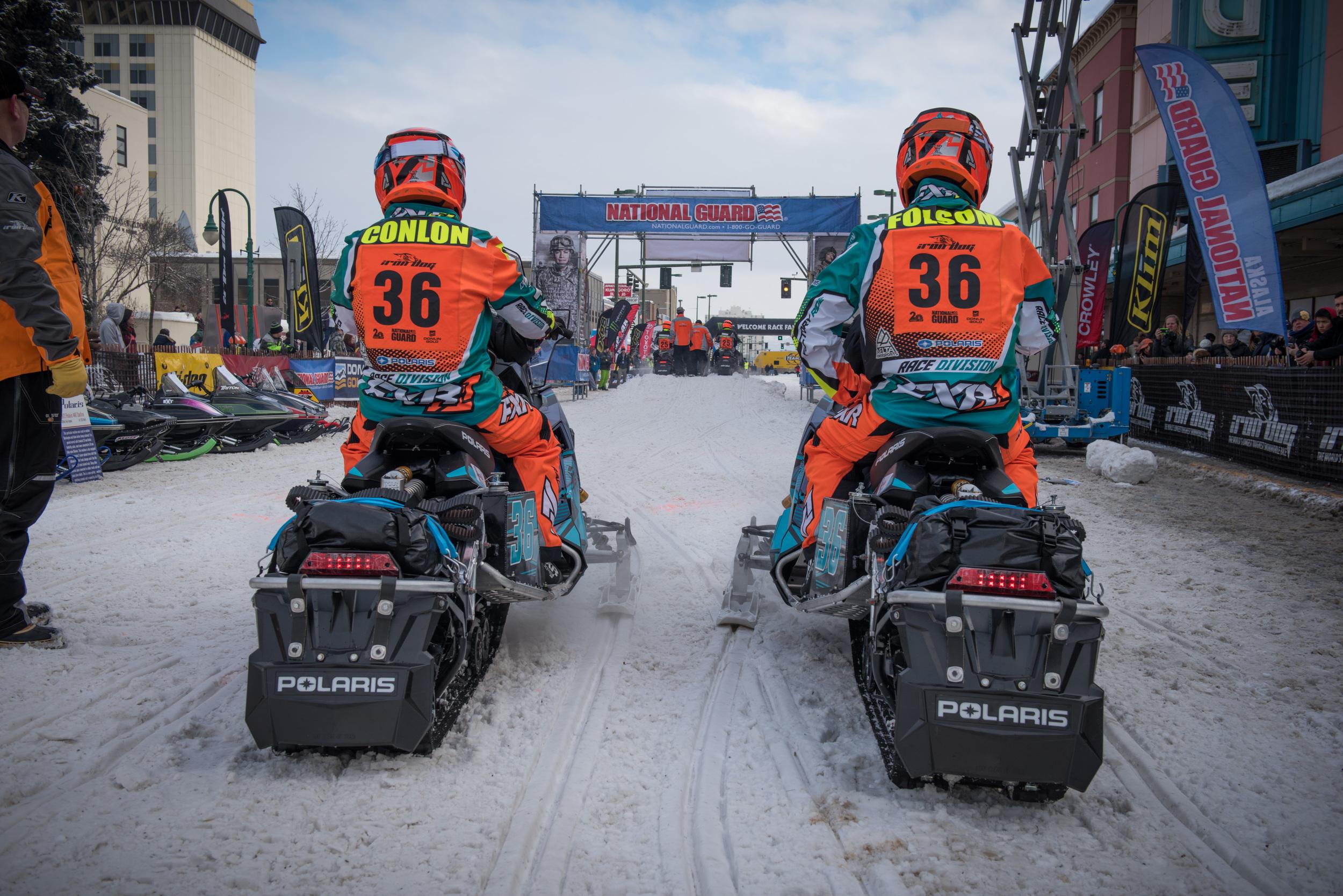 Iron Dog is World's Longest, Toughest Snowmobile Race