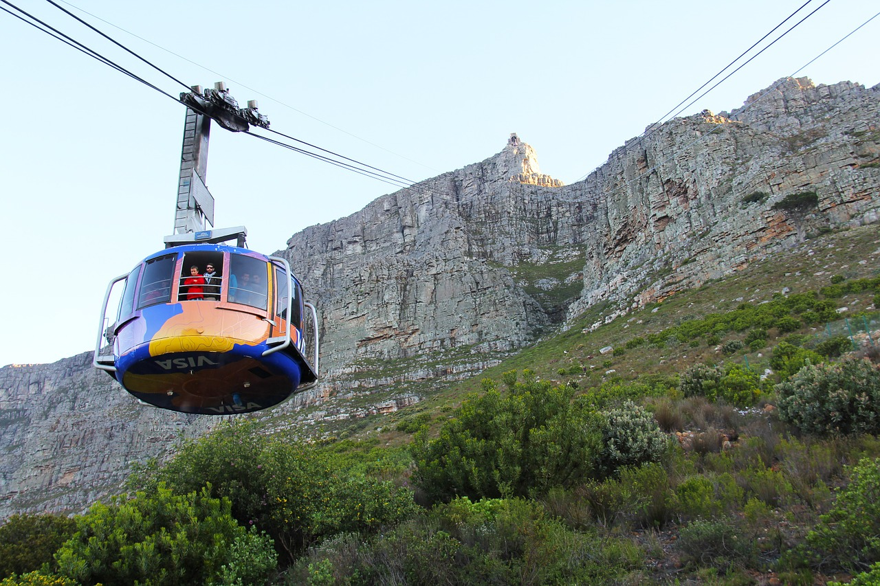 How To Reach The Top Of Cape Town S Table Mountain