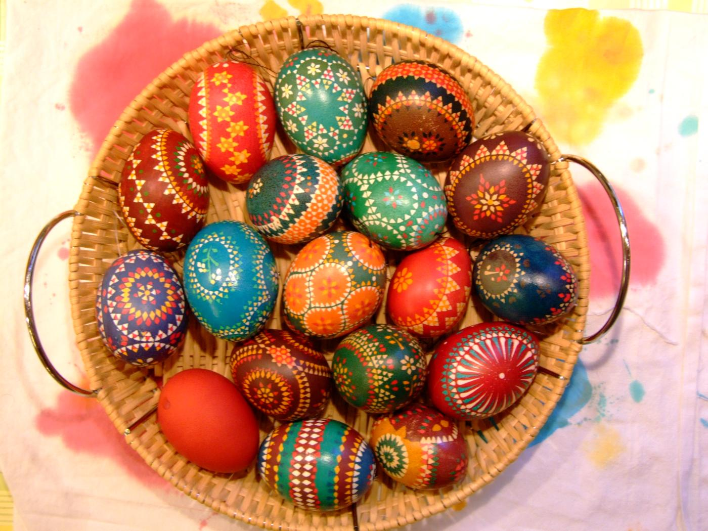 In Photos The Intricate Art Of Easter Egg Painting