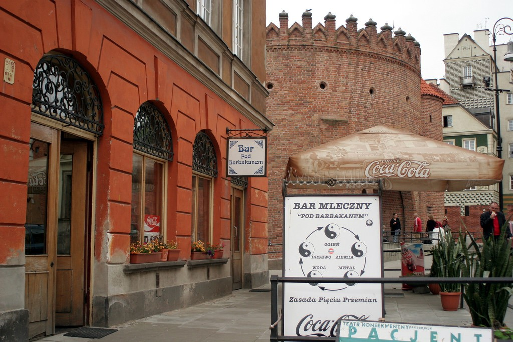 Bar Mleczny, Milkbar. Restaurante típico da época comunista   © Ana Paula Hirama/Flickr