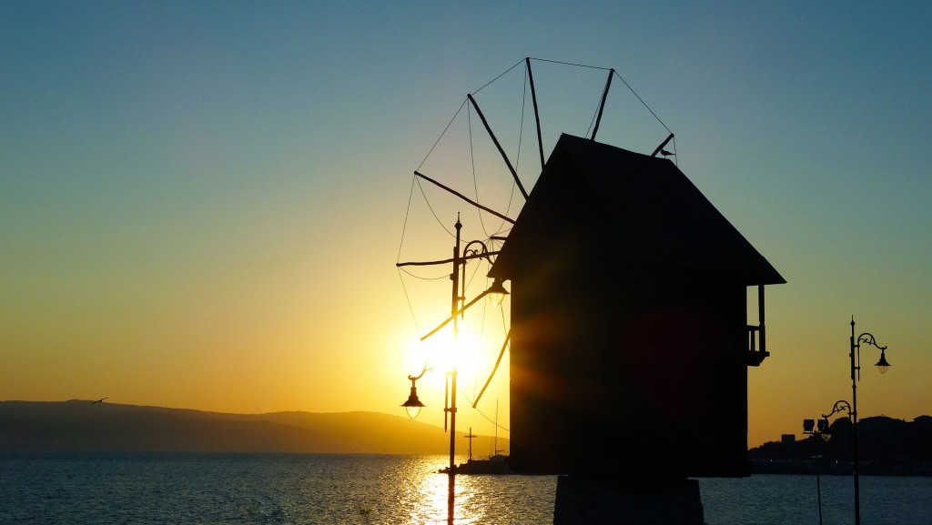 The famous windmill in Nessebar   © Pixabay