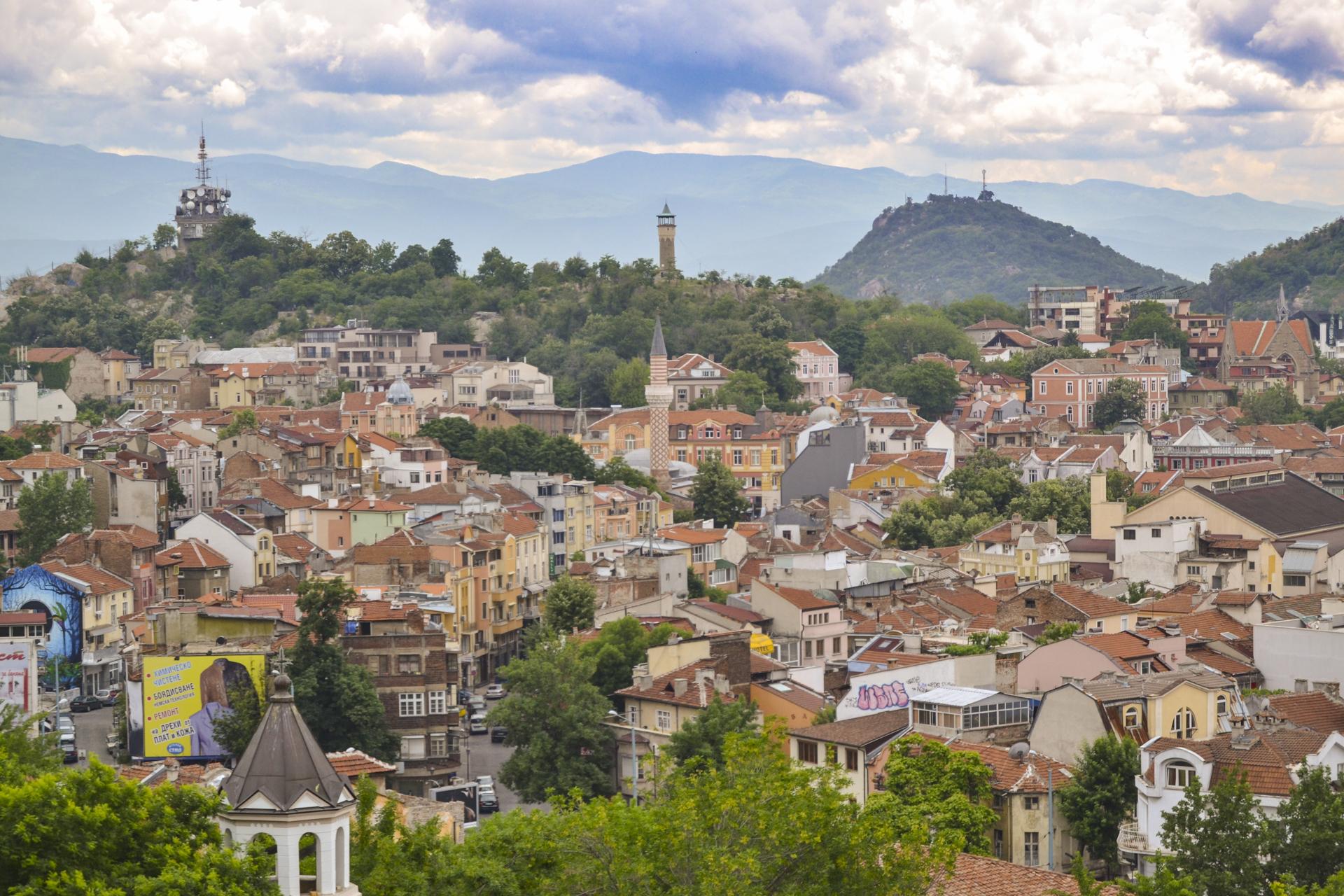 Plovdiv view   © Ilia Markov/WikiCommons