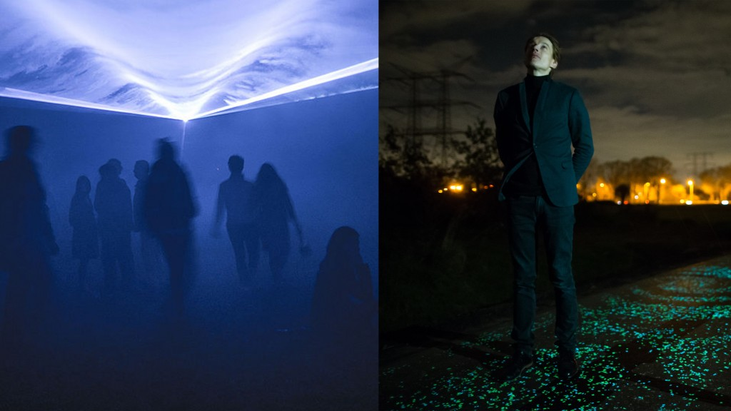 rachel limits1Waterlicht (left) and the Van Gogh Path (right) are two projects created by sbmdnfb | © Yann Caradec/Daan Roosegaarde/WikiCommons