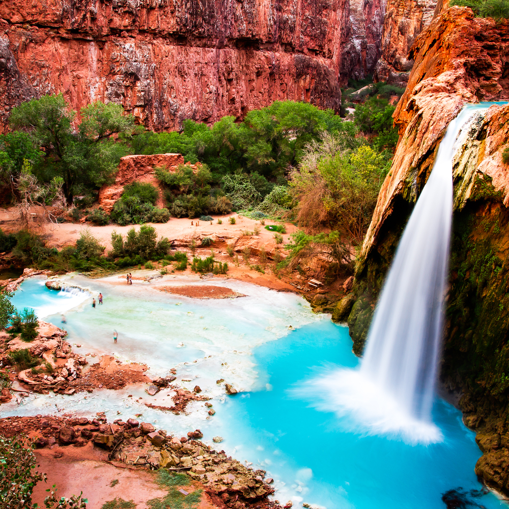 why everyone's going crazy over this magical waterfall in the grand