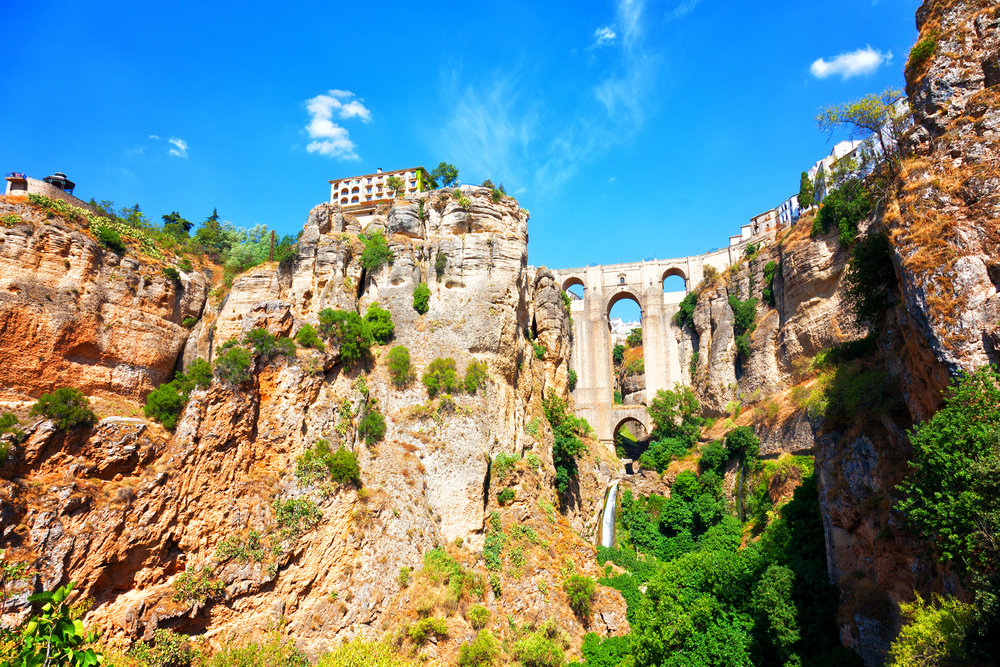 The gorge in Ronda, Spain | © Shchipkova Elena/Shutterstock