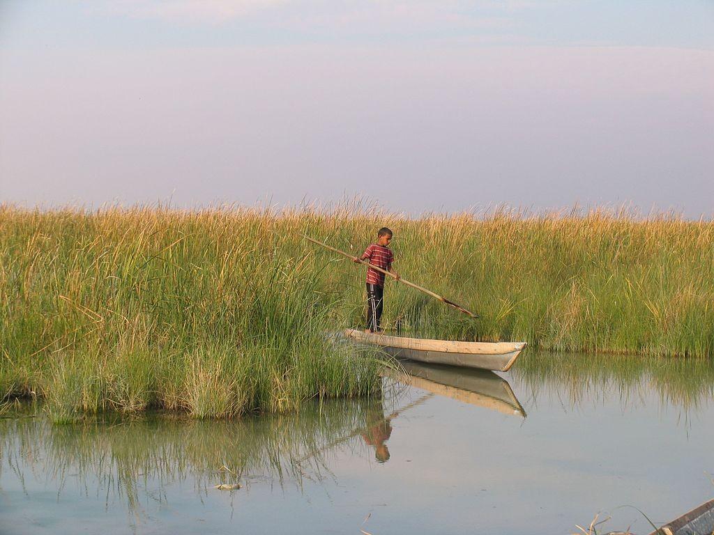 The peaceful Shadegan Lagoon | © internet alghadir shadegan / Wikimedia Commons