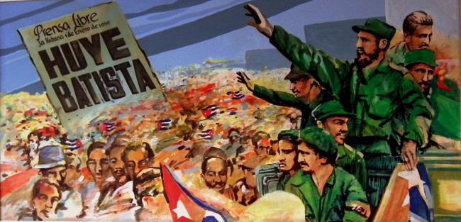 Mural celebrating the victory of the Rebel Army, Museum of the Revolution, Havana | © Calflier001 / Flickr