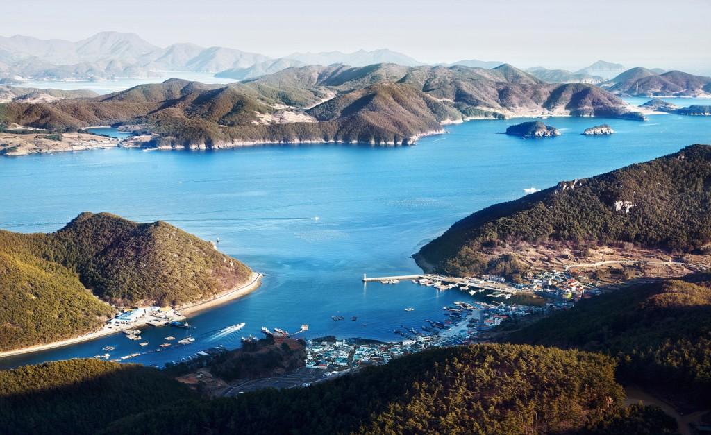 Hallyeohaesang National Marine Park, Tongyeong   © Joonggil Lee / Flickr