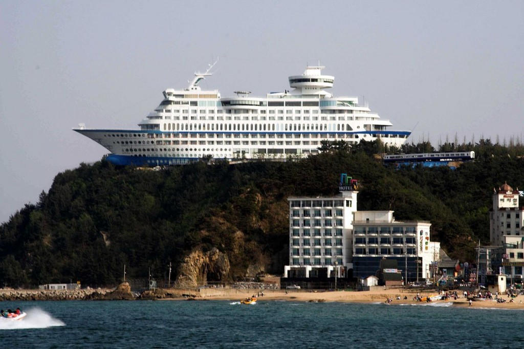 Gangneung's Sun Cruise Resort   © parhessiastes