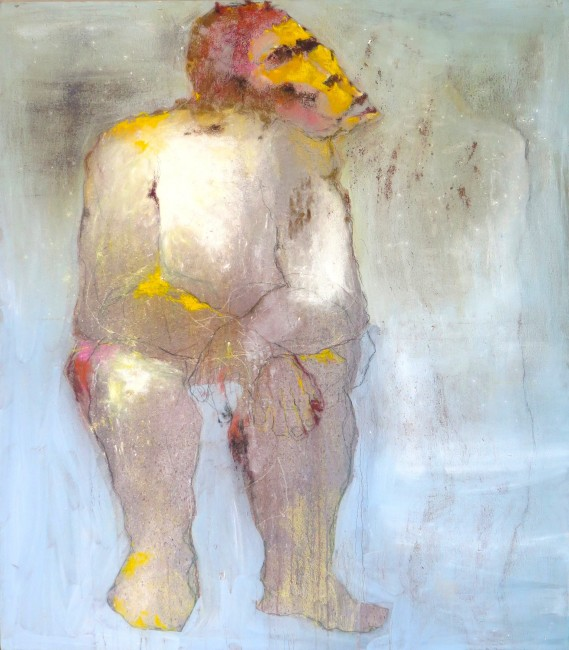 Mue #12 (painting 155 x 135 cm) | Courtesy of Gallery Cécile Fakhoury