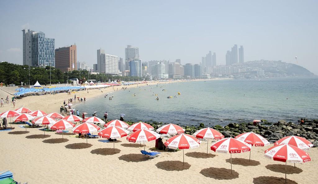 Haeundae Beach in Busan   © StephNurnberg