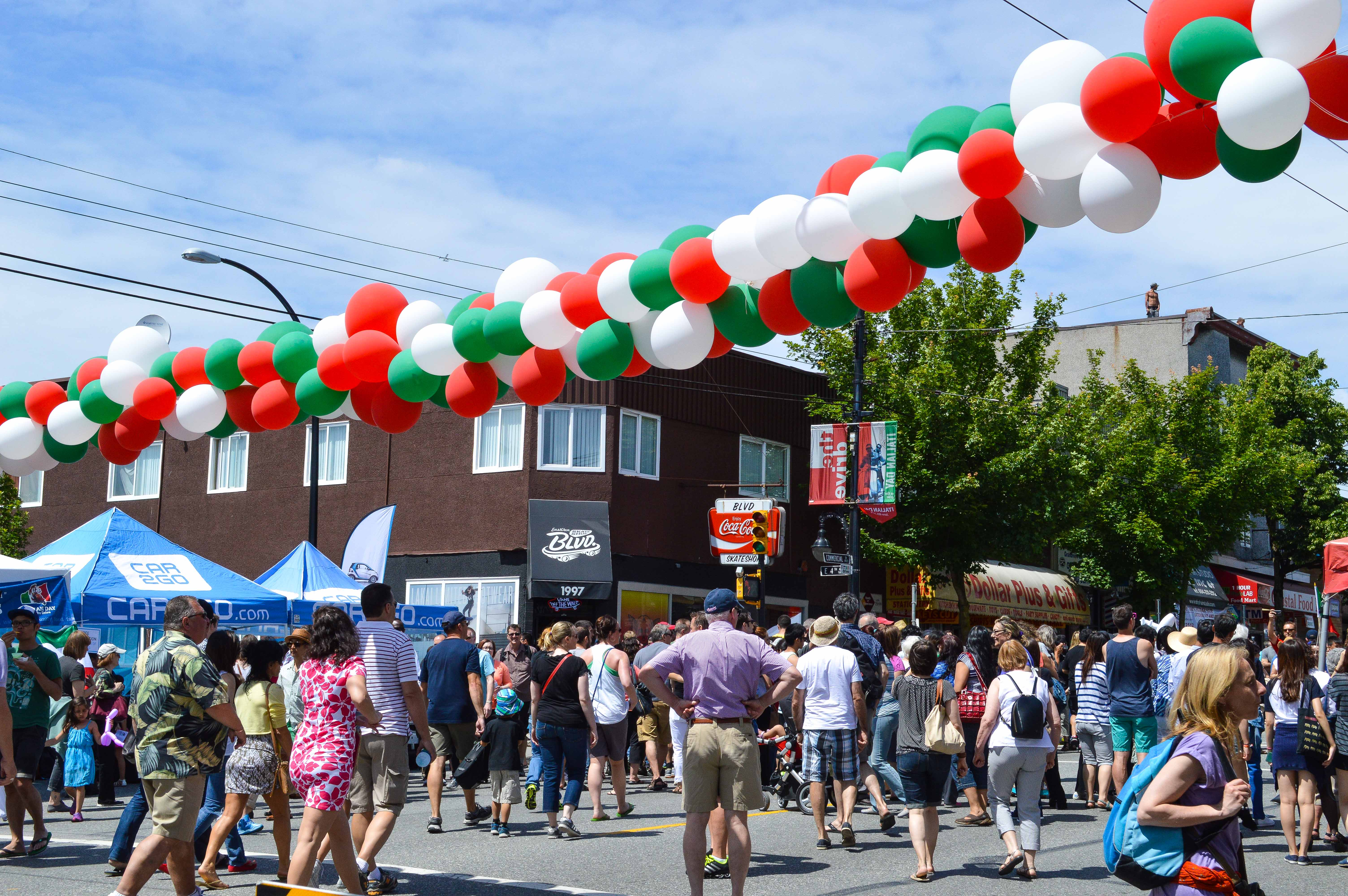 Italian Day On Commercial Drive Hayley Simpson