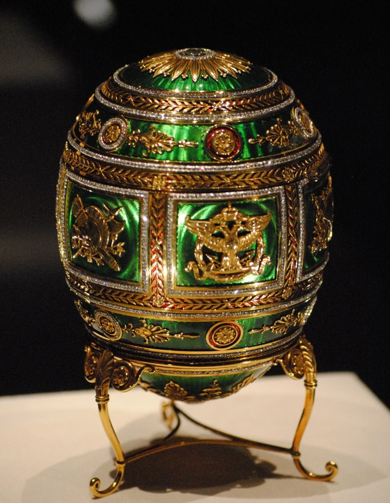 Where to see the last imperial faberg eggs around the world imperial napoleonic faberg egg chuck redden flickr negle Gallery