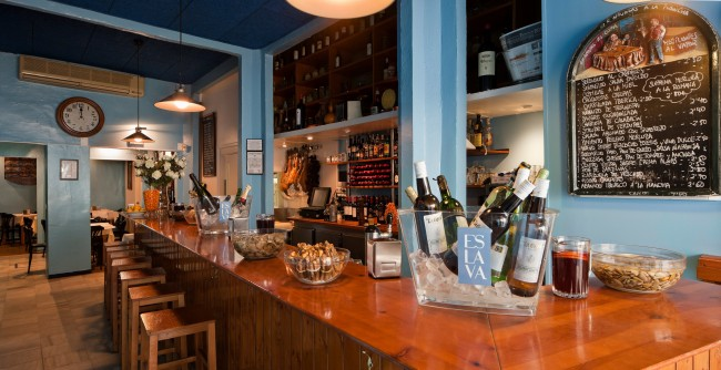 The Bar at Eslava | Courtesy of Eslava
