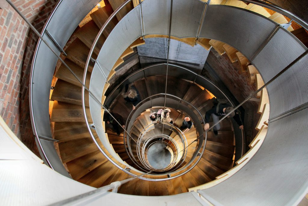 Lighthouse Staircase   © Jude Hogan/Flickr