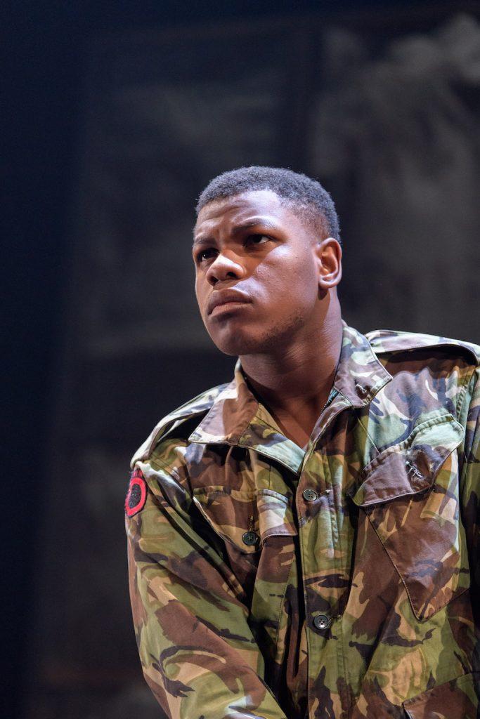 John Boyega as Woyzeck   © Old Vic