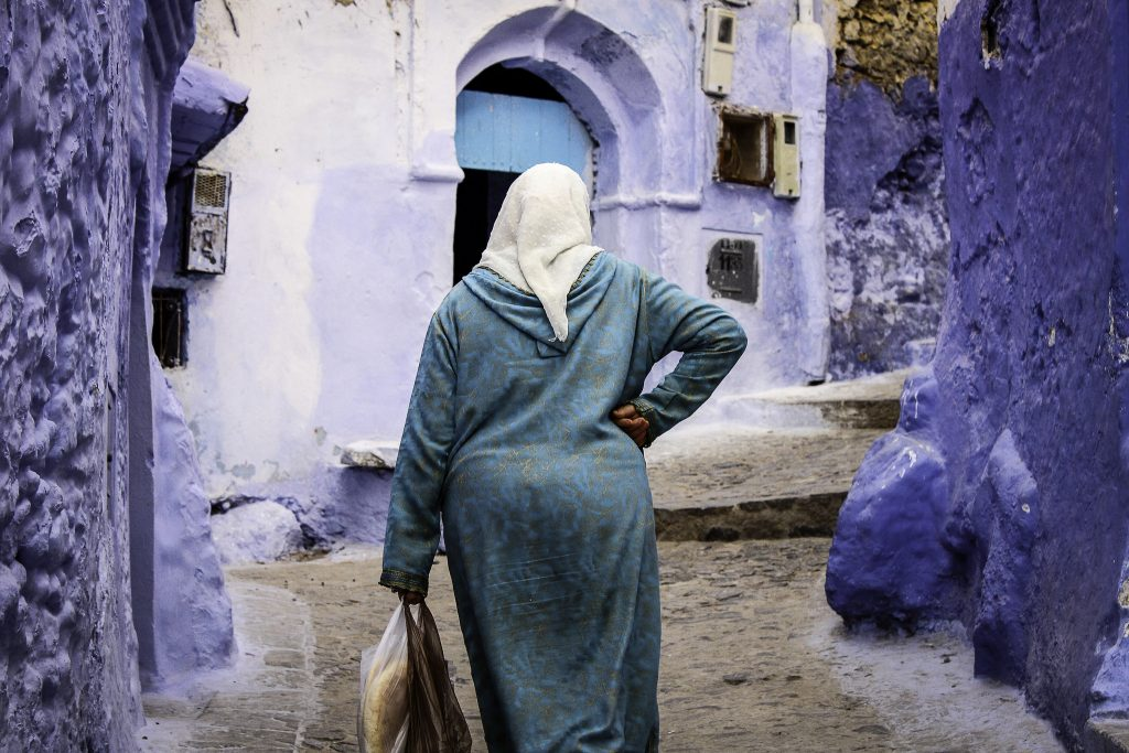 Moroccan lady