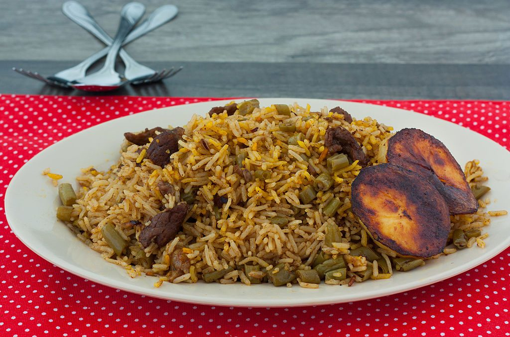Loobia polo is a rice pilaf with beef, green beans, and tomato | © مانفی / Wikimedia Commons