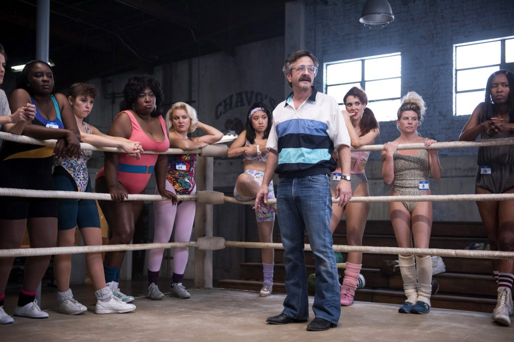 Chavo Guerrero's uncle, Mando, trained the real-life GLOW wrestlers. | © Erica Parise/Netflix