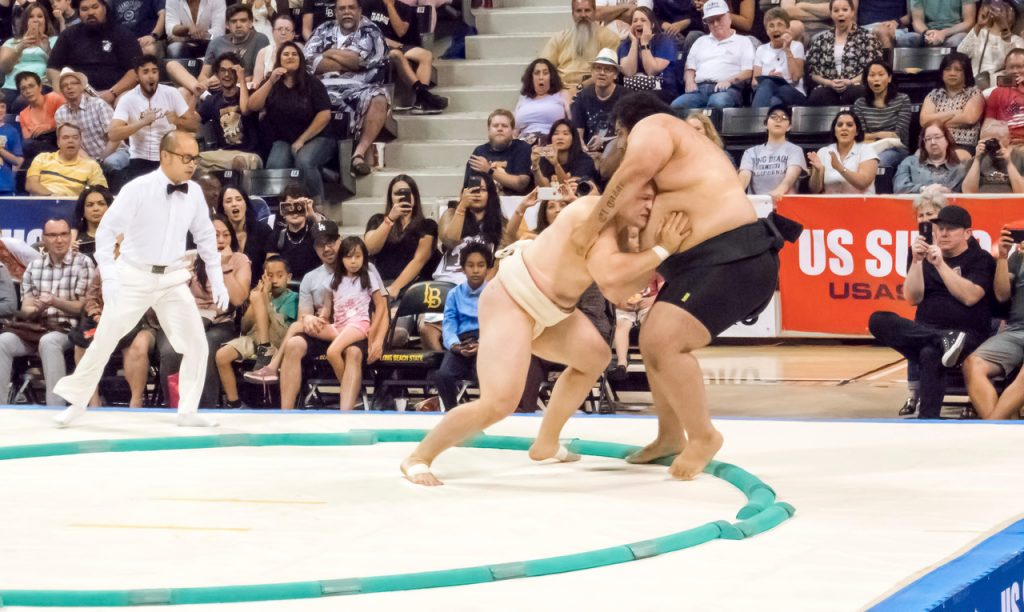 2017 U.S. Sumo Open | © Chuck Green/USA Sumo