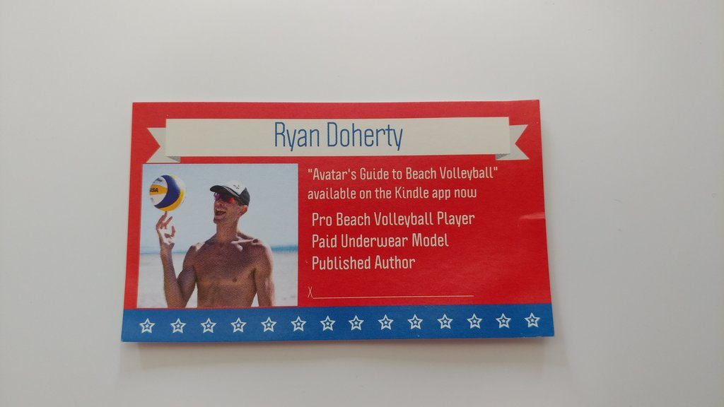 Ryan Doherty business card | © Michael LoRé/Culture Trip