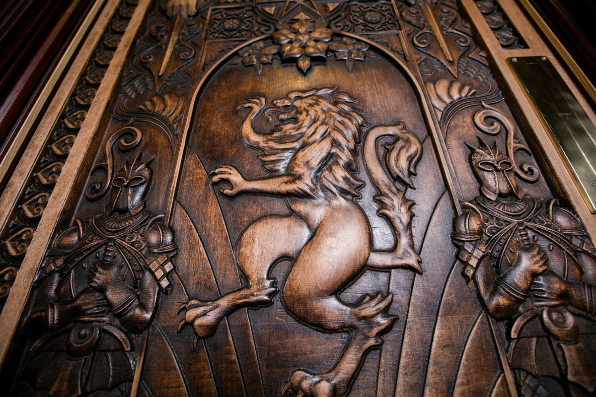 Door 10 at The Dark Horse | Courtesy of Tourism NI & Where to See the Game of Thrones Doors in Northern Ireland