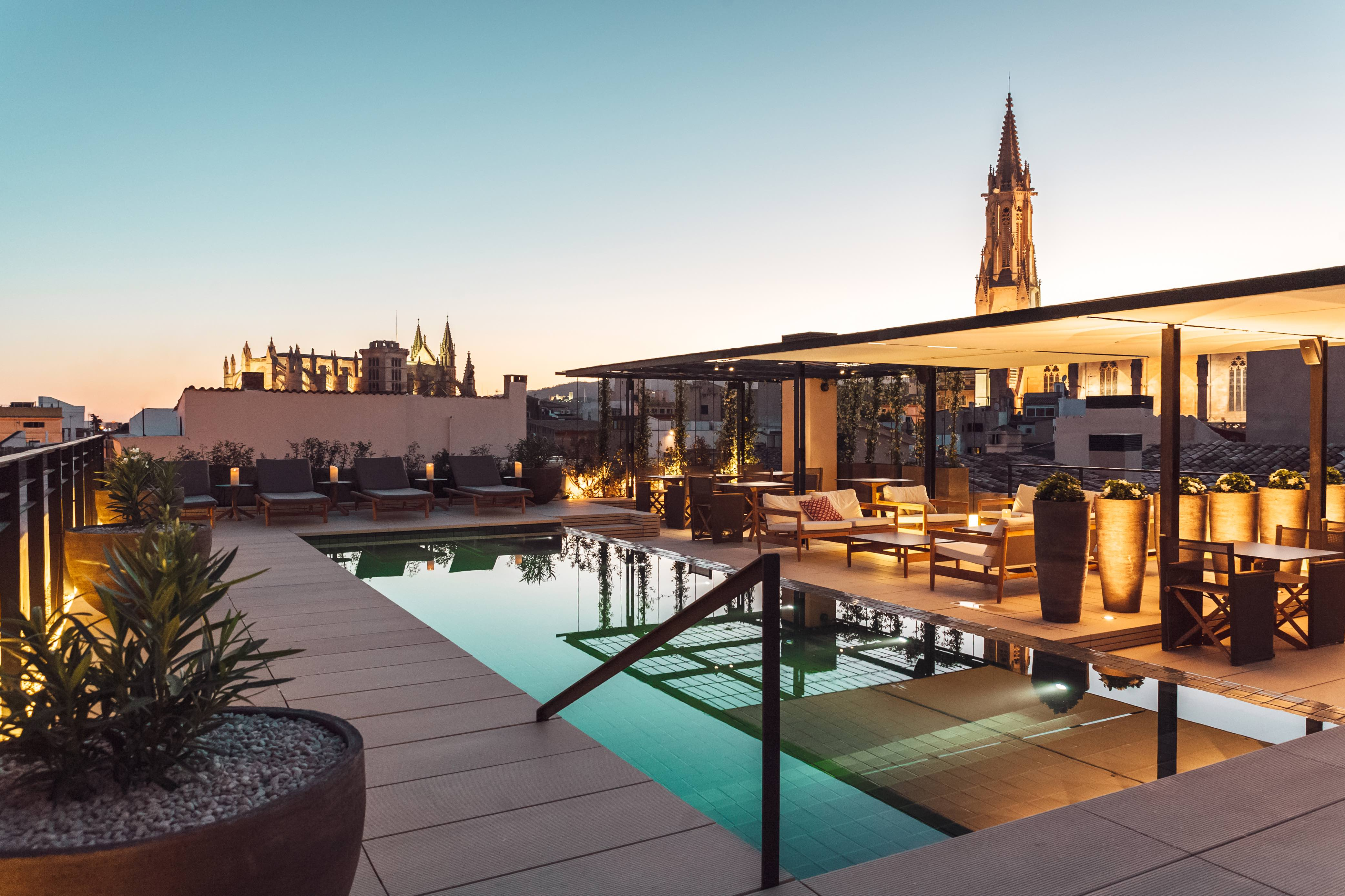 The Best Rooftop Pools In Mallorca