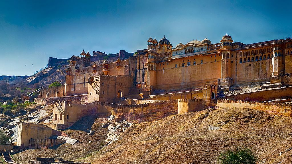 View of Amer Fort taken on a Road Trip   © TheXplorerYT / Wikimedia Commons