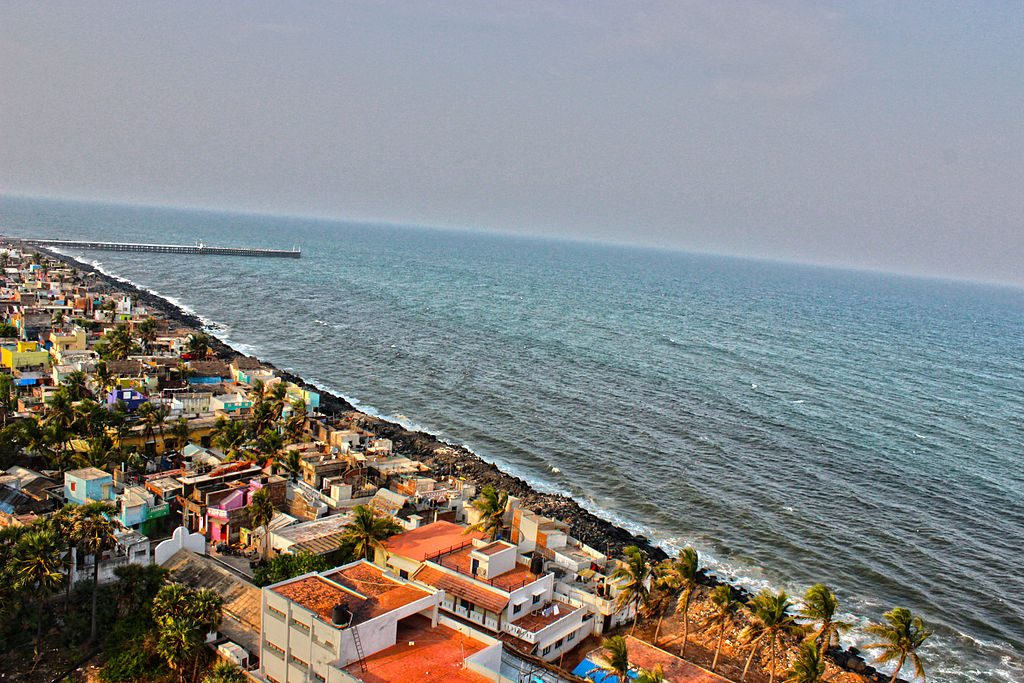 View of Pondicherry   © Karthik Easvur / Wikimedia Commons
