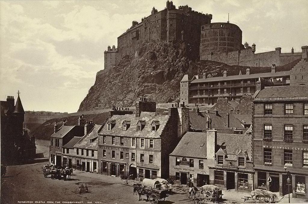Image result for edinburgh castle 1890